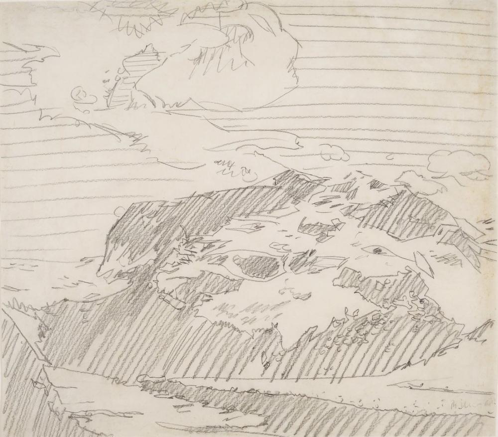 Gerhard Richter, Dağlar, Kanvas Tablo, Gerhard Richter, kanvas tablo, canvas print sales