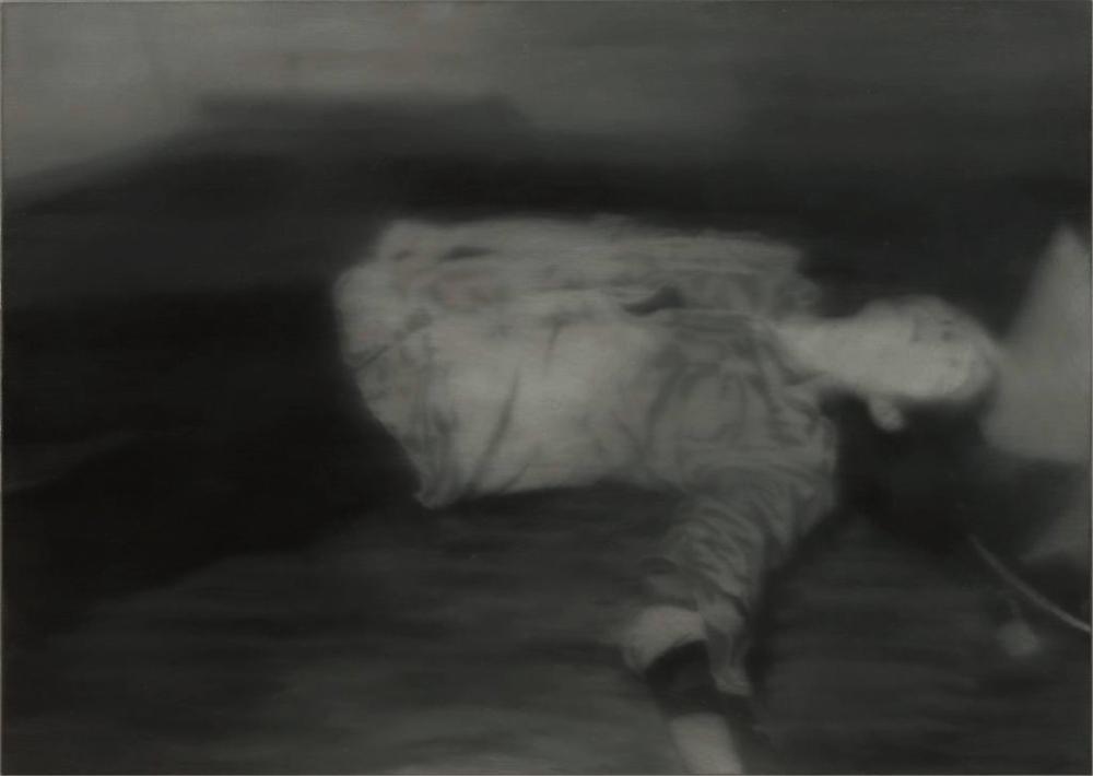 Gerhard Richter, Öldürüldü, Kanvas Tablo, Gerhard Richter, kanvas tablo, canvas print sales