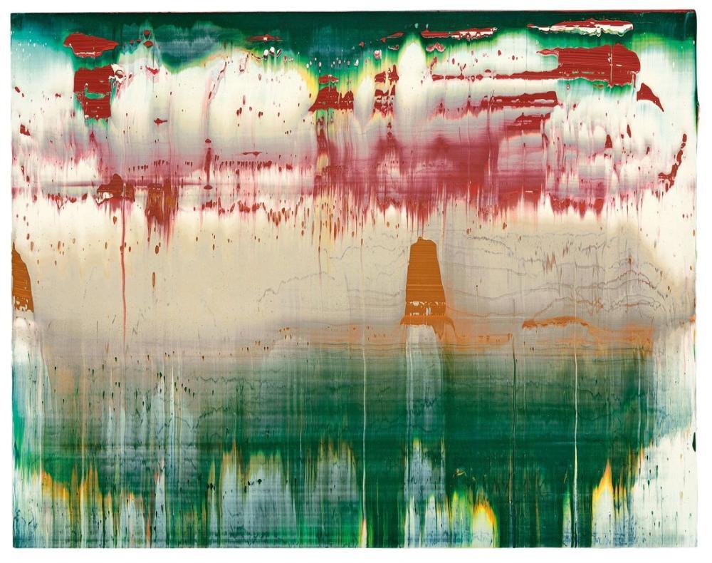Gerhard Richter, Fuji 89, Kanvas Tablo, Gerhard Richter, kanvas tablo, canvas print sales
