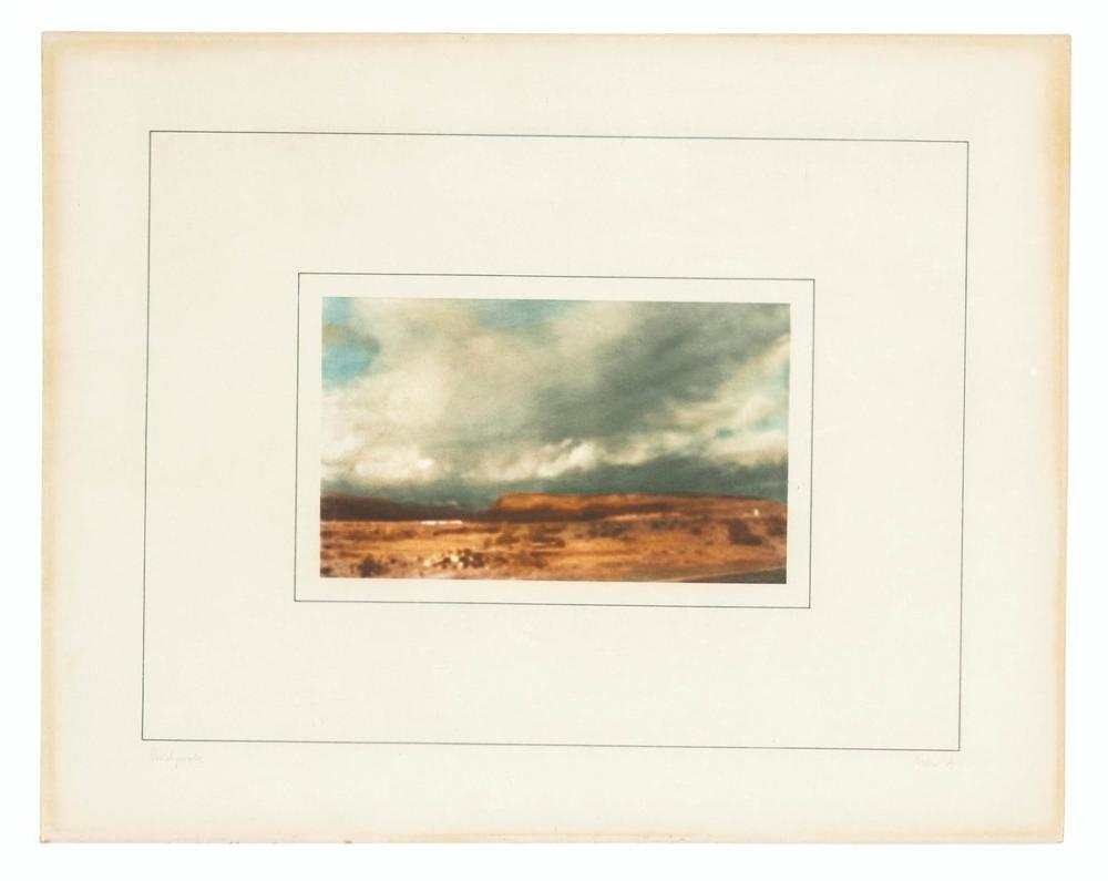 Gerhard Richter, Kanarische Landschaften 1 den Plaka B, Kanvas Tablo, Gerhard Richter, kanvas tablo, canvas print sales