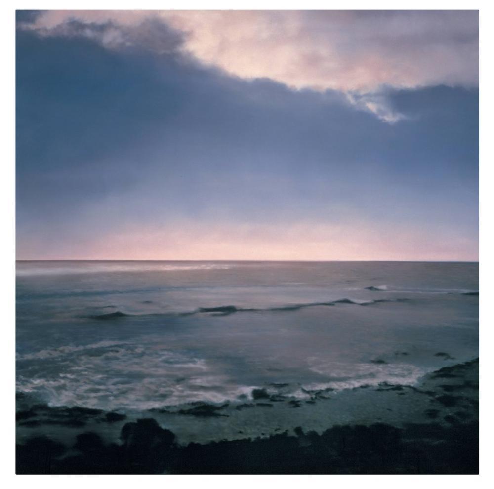 Gerhard Richter, Deniz Manzarası, Kanvas Tablo, Gerhard Richter, kanvas tablo, canvas print sales