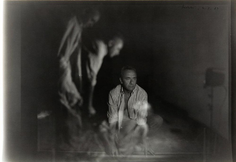 Gerhard Richter, Otoportre 1989, Kanvas Tablo, Gerhard Richter, kanvas tablo, canvas print sales