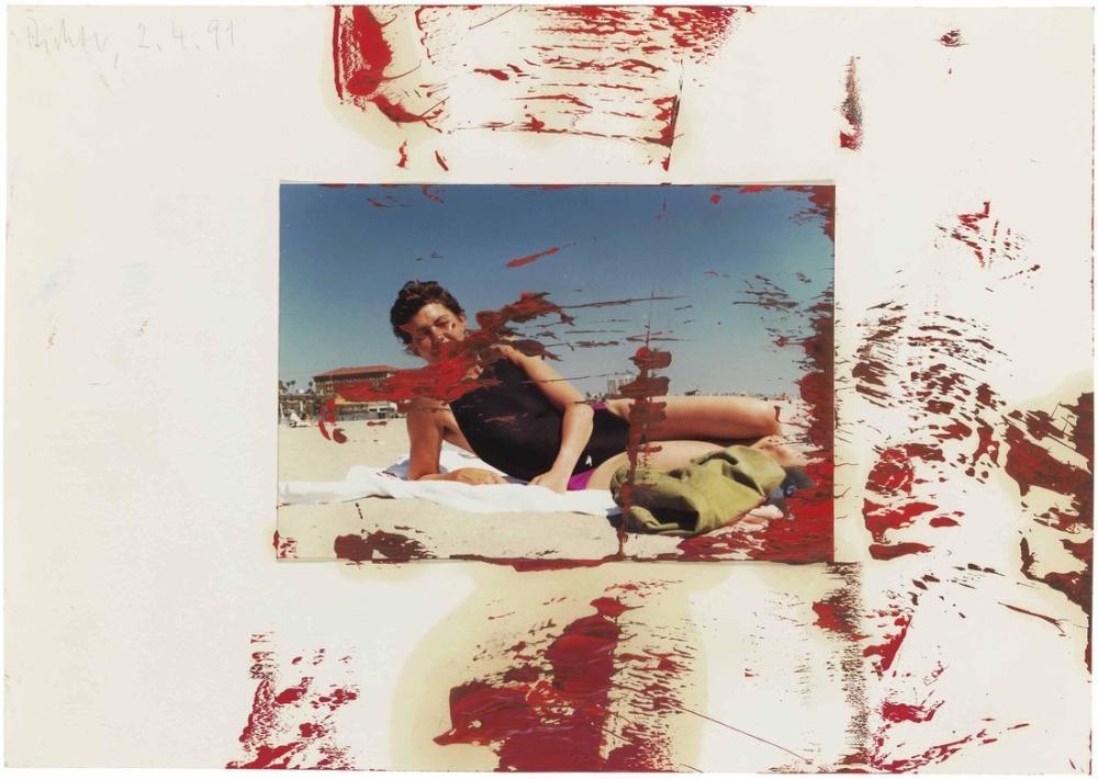 Gerhard Richter, İsimsiz 2-4-91, Kanvas Tablo, Gerhard Richter, kanvas tablo, canvas print sales