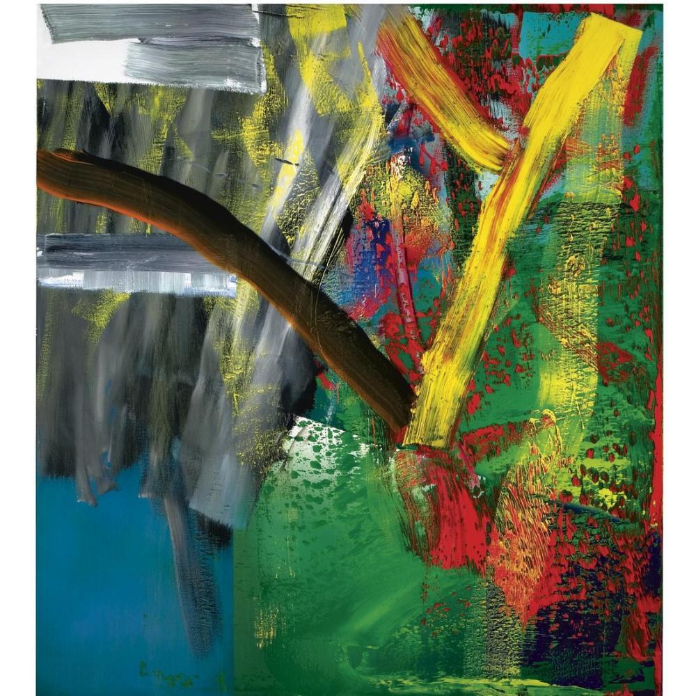 25x25 40x40 50x50 100x100 Kare Şablon, Kanvas Tablo, Gerhard Richter, kanvas tablo, canvas print sales