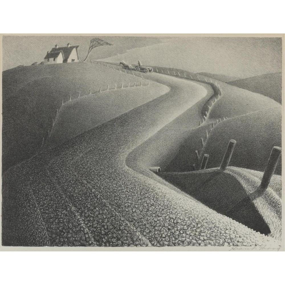 Grant Wood March, Regionalism, Grant Wood, kanvas tablo, canvas print sales