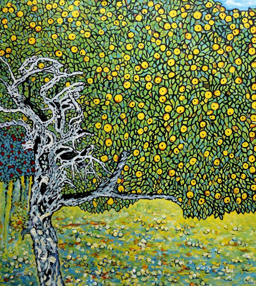 Gustav Klimt, Altın Elma Ağaçları, Kanvas Tablo, Gustav Klimt, kanvas tablo, canvas print sales