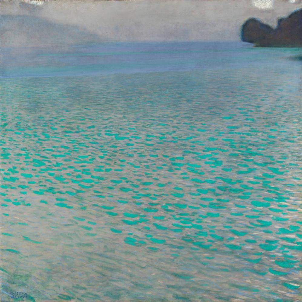 Gustav Klimt, Attersee Lake, Canvas, Gustav Klimt