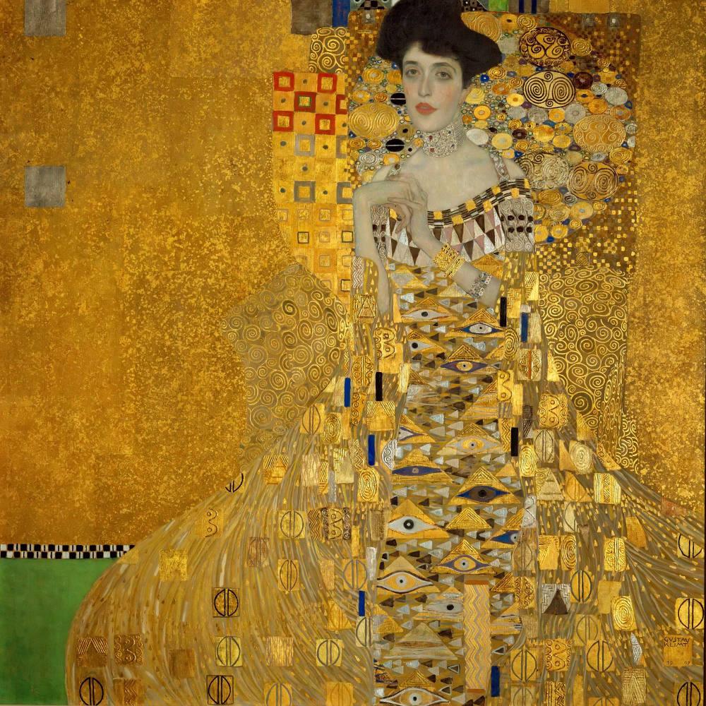 Adele Bloch Bauer Portresi, Gustav Klimt, Kanvas Tablo, Gustav Klimt, kanvas tablo, canvas print sales