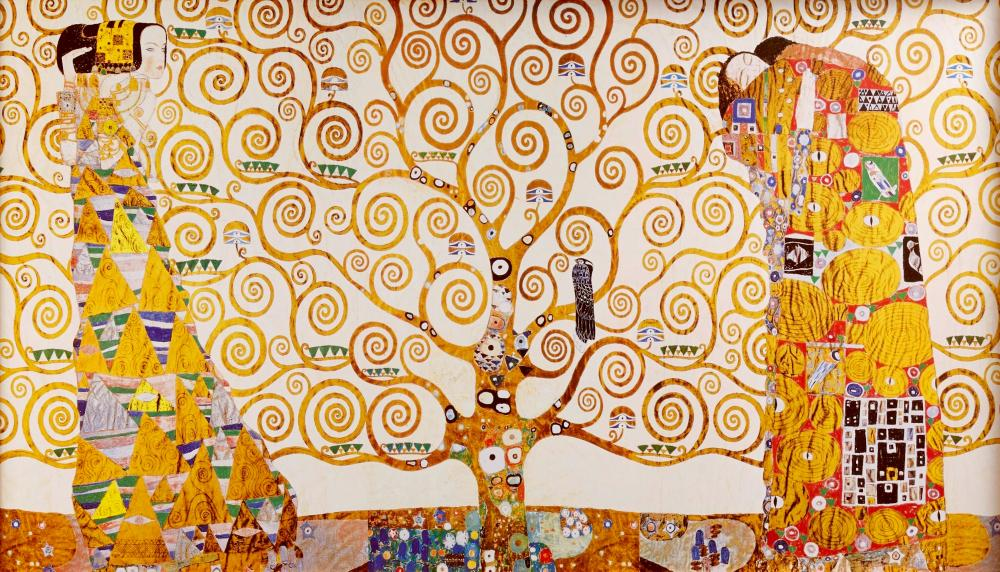 Gustav Klimt, Hayat Ağacı Tablosu, Figür, Gustav Klimt, kanvas tablo, canvas print sales