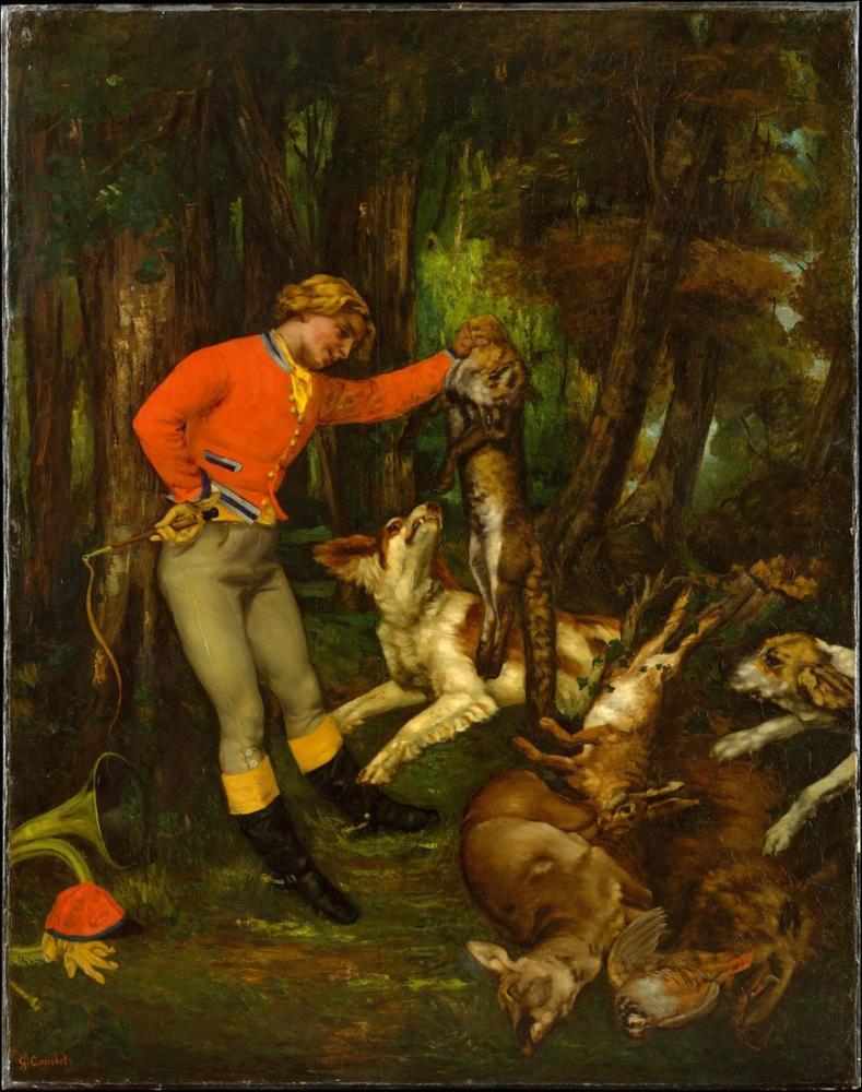 Gustave Courbet Avdan Sonra, Kanvas Tablo, Gustave Courbet, kanvas tablo, canvas print sales