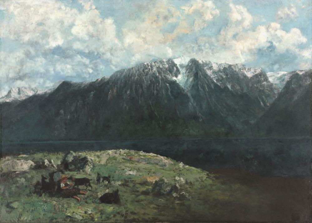 Gustave Courbet Midi Görevleri, Kanvas Tablo, Gustave Courbet, kanvas tablo, canvas print sales