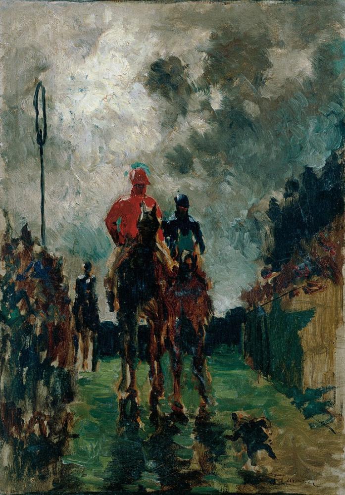 Henri De Toulouse Lautrec Les Jockeys, Figure, Henri de Toulouse-Lautrec, kanvas tablo, canvas print sales