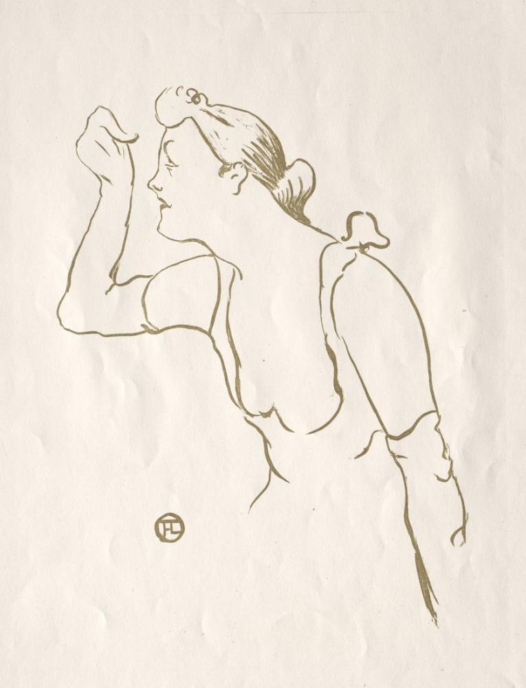 Henri De Toulouse Lautrec Paula Brebion, Figure, Henri de Toulouse-Lautrec, kanvas tablo, canvas print sales