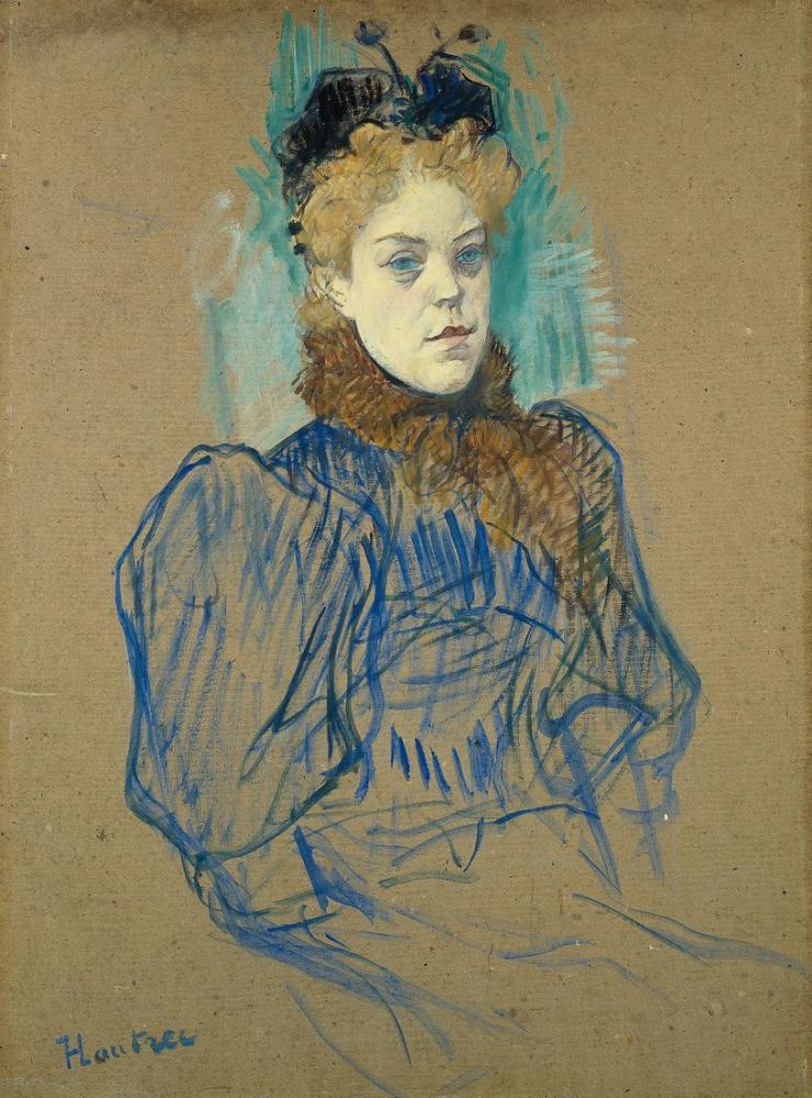 Henri De Toulouse Lautrec May Milton, Figure, Henri de Toulouse-Lautrec, kanvas tablo, canvas print sales