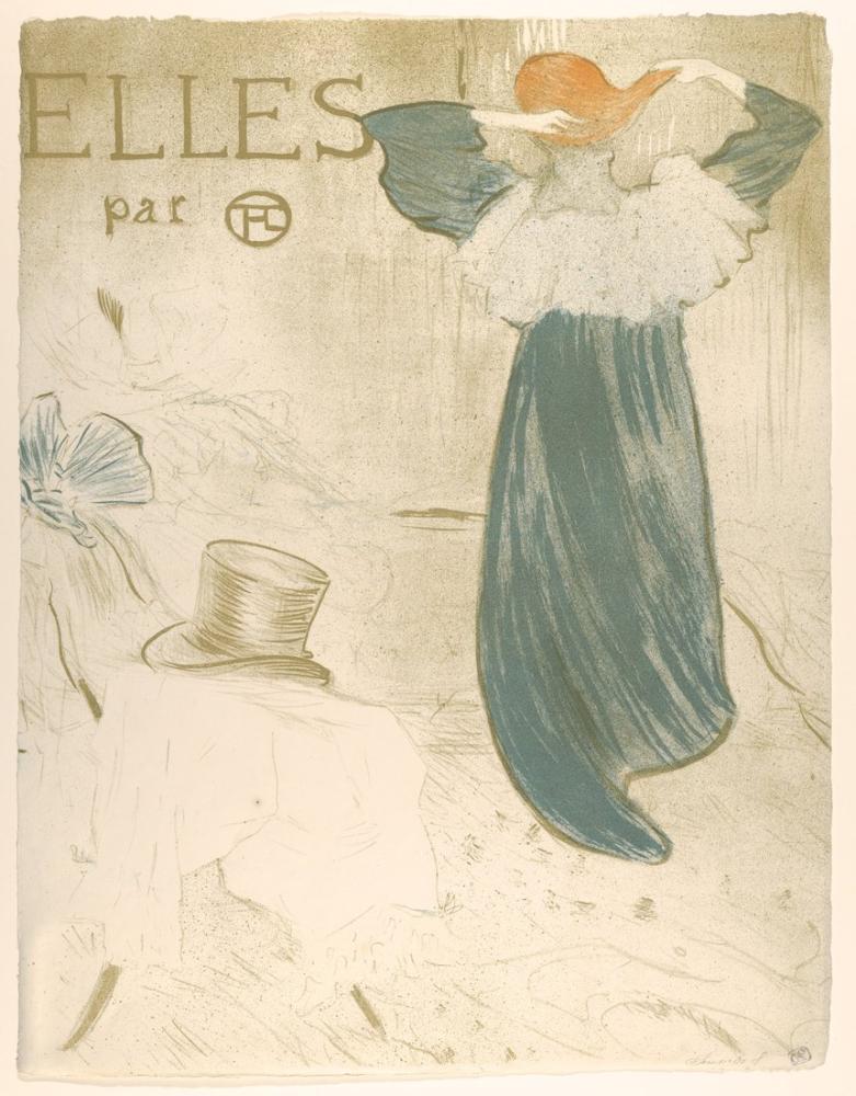Henri De Toulouse Lautrec Onlar, Figür, Henri de Toulouse-Lautrec, kanvas tablo, canvas print sales