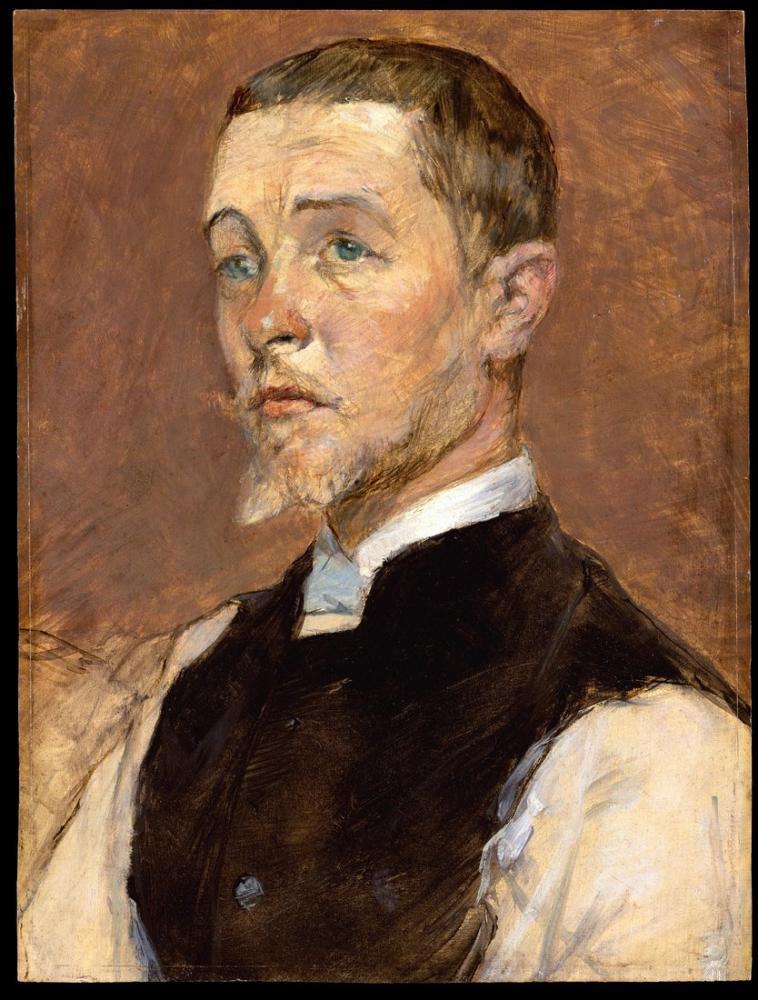 Henri De Toulouse Lautrec Albert Rene Grenier, Kanvas Tablo, Henri de Toulouse-Lautrec, kanvas tablo, canvas print sales
