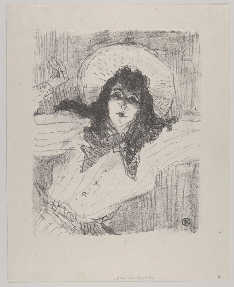 Henri De Toulouse Lautrec May Belfort II, Kanvas Tablo, Henri de Toulouse-Lautrec, kanvas tablo, canvas print sales