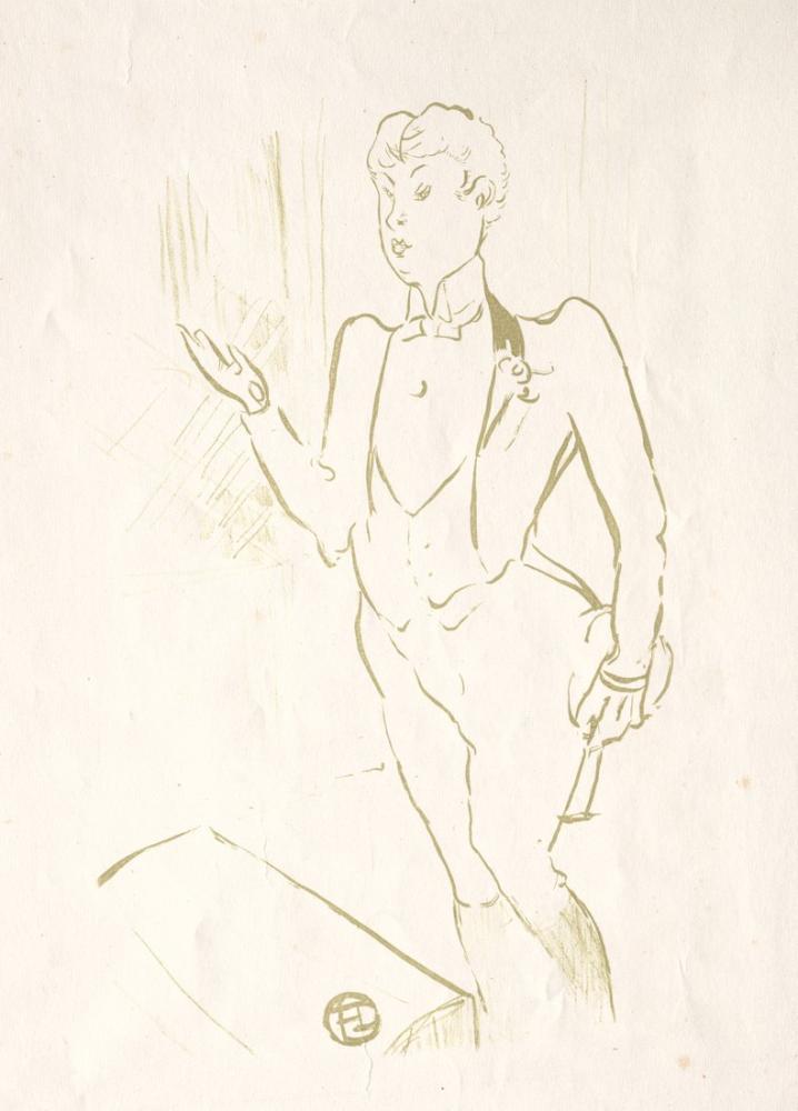 Henri De Toulouse Lautrec Mary Hamilton, Figür, Henri de Toulouse-Lautrec, kanvas tablo, canvas print sales