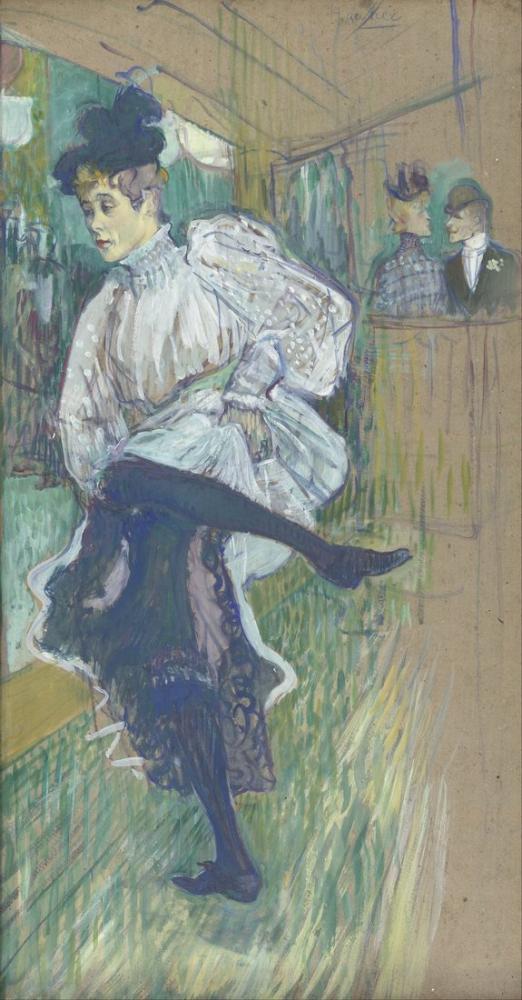 Henri De Toulouse Lautrec Jane Avril Dancing, Canvas, Henri de Toulouse-Lautrec, kanvas tablo, canvas print sales