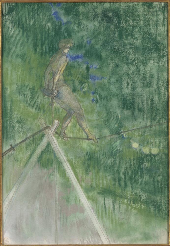 Henri De Toulouse Lautrec Halat Dansçısı, Kanvas Tablo, Henri de Toulouse-Lautrec, kanvas tablo, canvas print sales