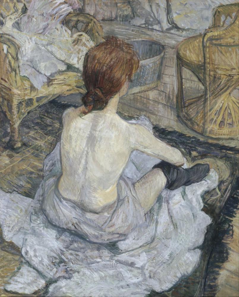 Henri De Toulouse Lautrec Rousse, Kanvas Tablo, Henri de Toulouse-Lautrec, kanvas tablo, canvas print sales
