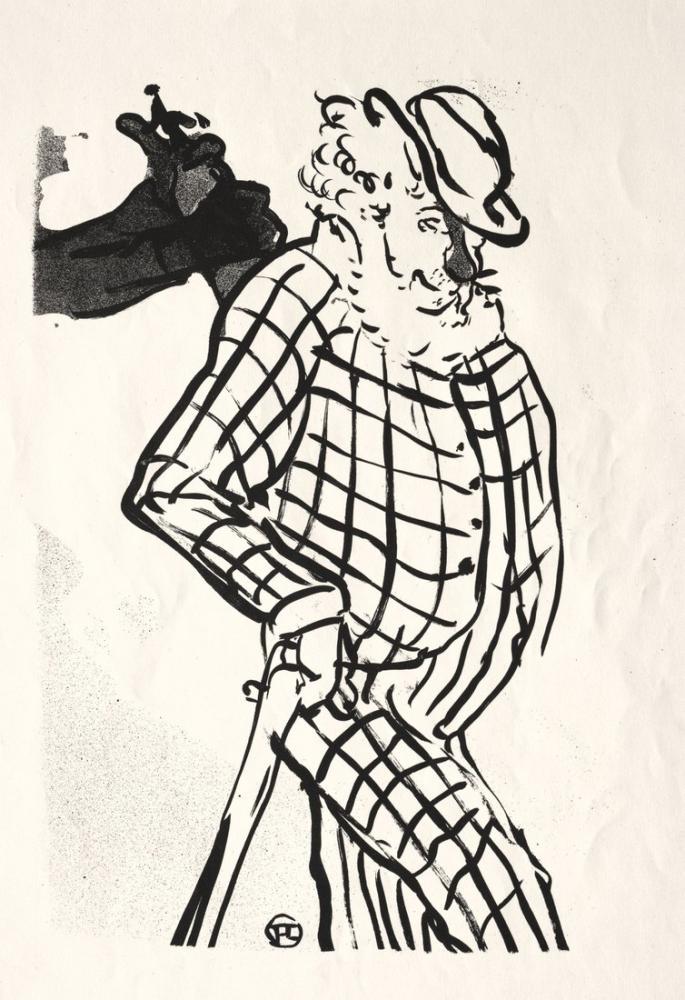 Henri De Toulouse Lautrec Amerikan Şarkıcı Konseri Cafe, Figür, Henri de Toulouse-Lautrec, kanvas tablo, canvas print sales
