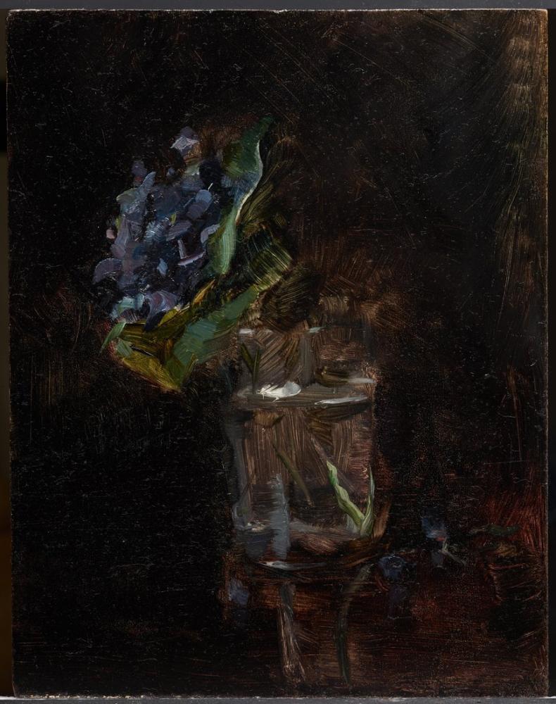 Henri De Toulouse Lautrec Bir Vazoda Menekşe Buket, Kanvas Tablo, Henri de Toulouse-Lautrec, kanvas tablo, canvas print sales