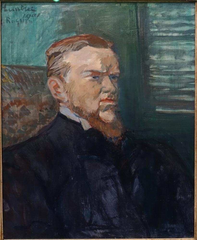 Henri De Toulouse Lautrec Portrait Of Octave Raquin, Canvas, Henri de Toulouse-Lautrec, kanvas tablo, canvas print sales