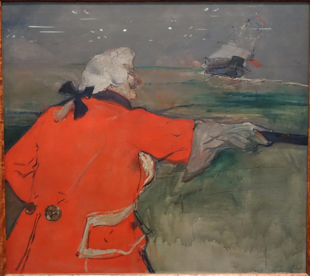 Henri De Toulouse Lautrec Paul Viaud Yüzyıl Amiral Olarak Giyinmiş, Figür, Henri de Toulouse-Lautrec, kanvas tablo, canvas print sales