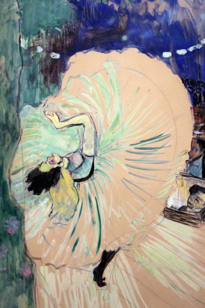 Henri De Toulouse Lautrec Direksiyon Başında Görülen Dolgun Balerin, Kanvas Tablo, Henri de Toulouse-Lautrec, kanvas tablo, canvas print sales