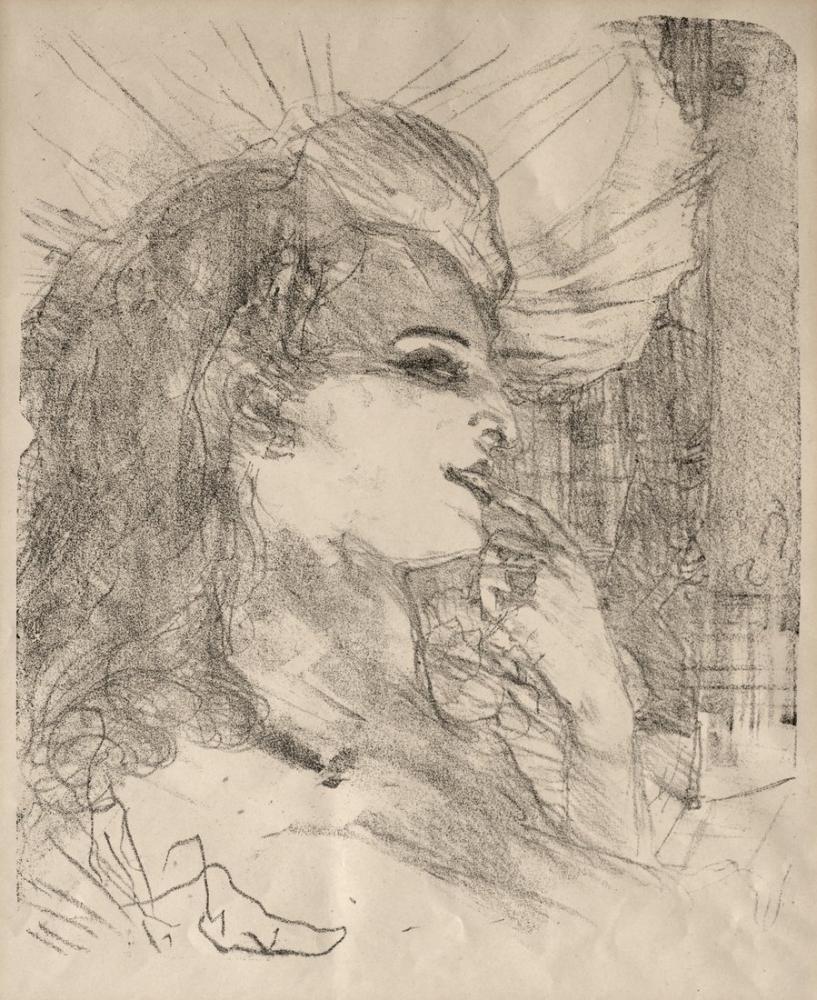 Henri De Toulouse Lautrec Portraits Of Actors And Actresses Thirteen Lithographs Anna Held, Canvas, Henri de Toulouse-Lautrec, kanvas tablo, canvas print sales