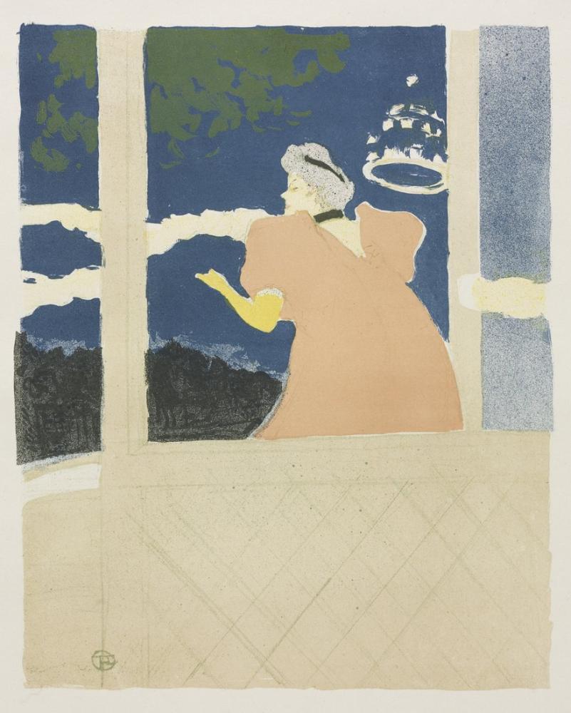 Henri De Toulouse Lautrec Elçilere, Kanvas Tablo, Henri de Toulouse-Lautrec, kanvas tablo, canvas print sales