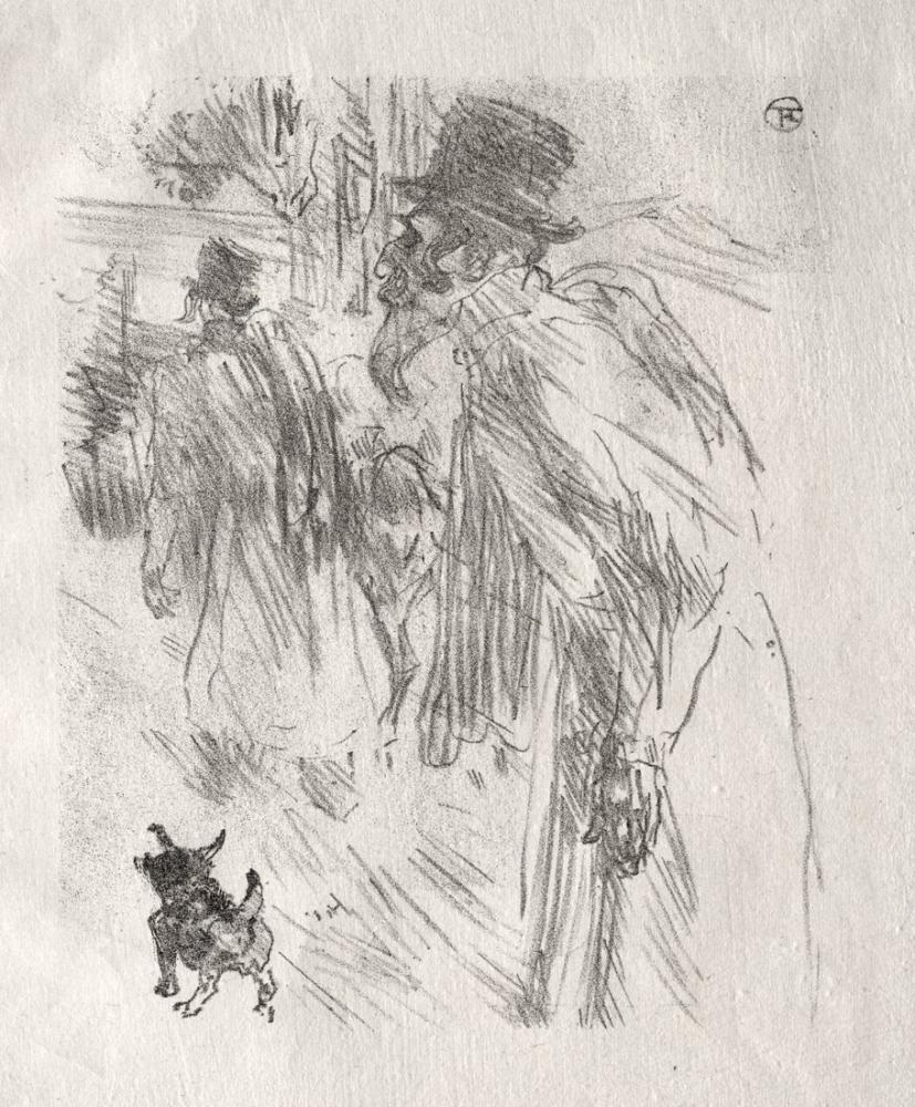 Henri De Toulouse Lautrec Sina Polonyalı Yahudilerin Etrafında Carlsbad, Kanvas Tablo, Henri de Toulouse-Lautrec, kanvas tablo, canvas print sales