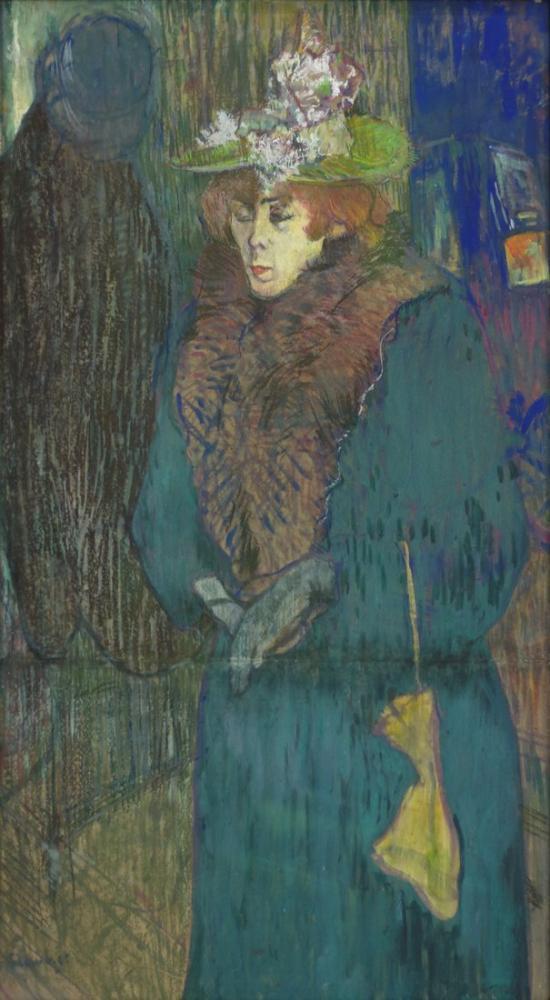 Henri De Toulouse Lautrec Jane Avril, Kanvas Tablo, Henri de Toulouse-Lautrec, kanvas tablo, canvas print sales