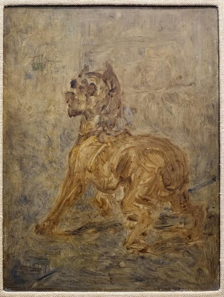 Henri De Toulouse Lautrec Köpek, Kanvas Tablo, Henri de Toulouse-Lautrec, kanvas tablo, canvas print sales