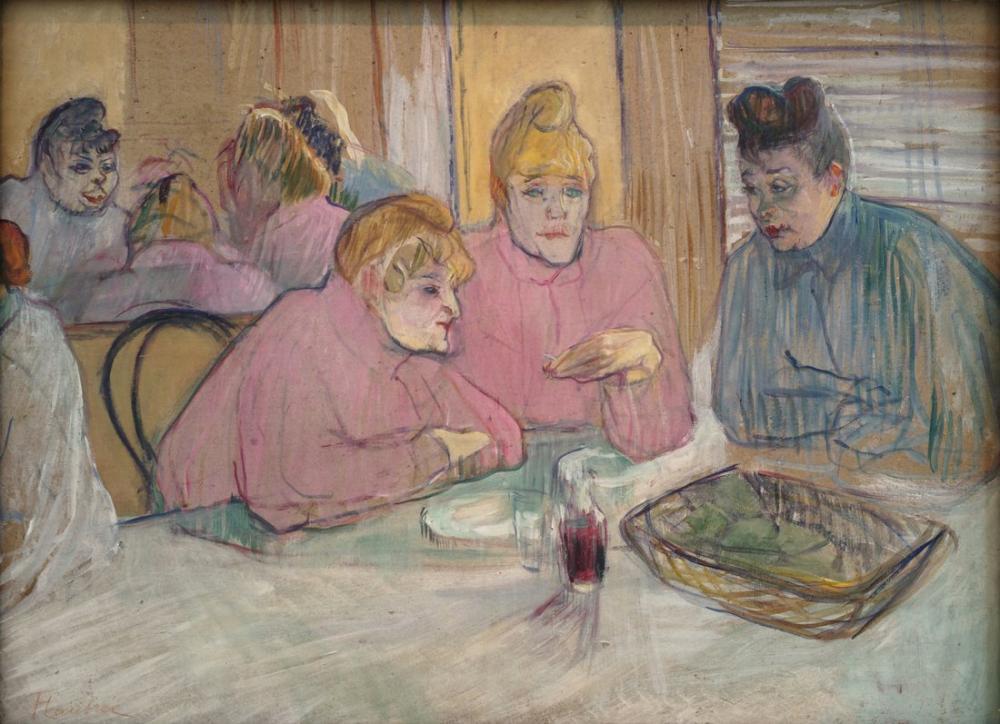Henri De Toulouse Lautrec Ces dames, Canvas, Henri de Toulouse-Lautrec, kanvas tablo, canvas print sales