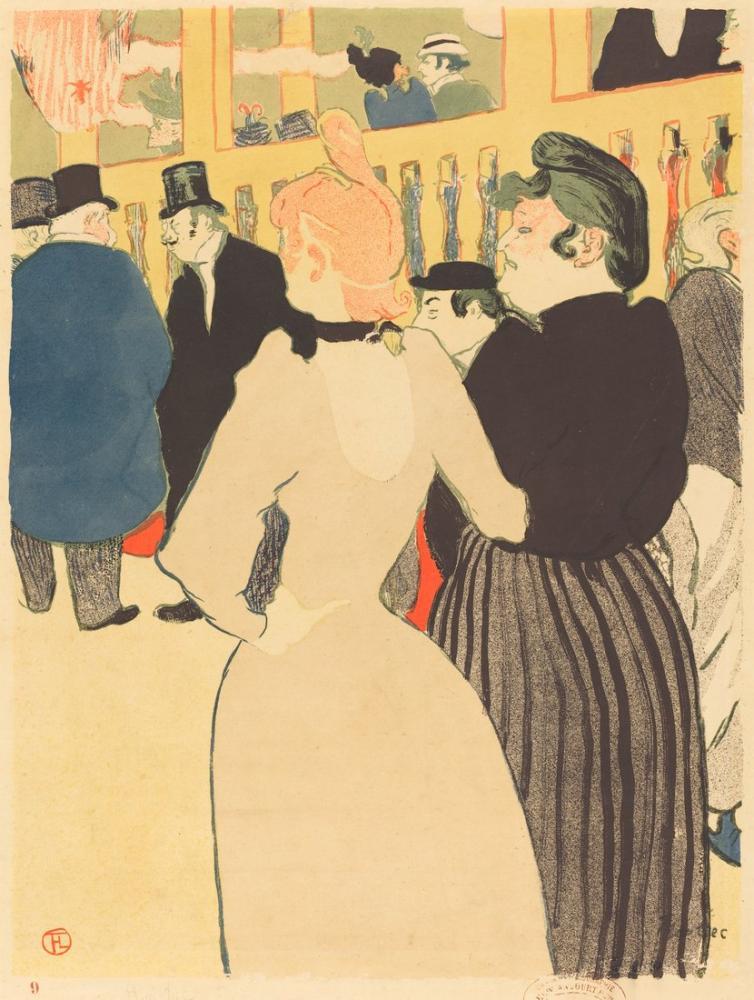 Henri De Toulouse Lautrec Moulin Rouge Goulue Ve Kız Kardeşi, Kanvas Tablo, Henri de Toulouse-Lautrec, kanvas tablo, canvas print sales
