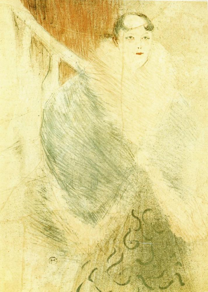 Henri De Toulouse Lautrec Elsa Called The Liennoise, Canvas, Henri de Toulouse-Lautrec, kanvas tablo, canvas print sales
