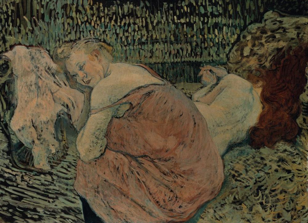 Henri De Toulouse Lautrec İki Arkadaş, Kanvas Tablo, Henri de Toulouse-Lautrec, kanvas tablo, canvas print sales