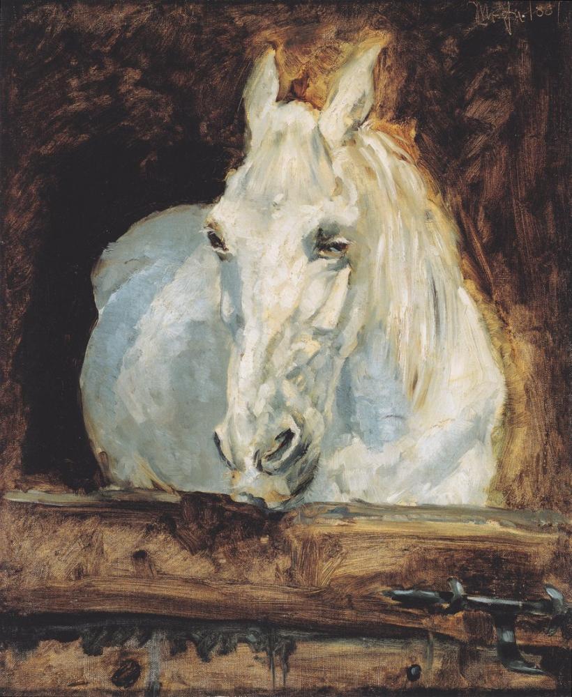 Henri De Toulouse Lautrec Der Schimmel Gazelle, Canvas, Henri de Toulouse-Lautrec, kanvas tablo, canvas print sales