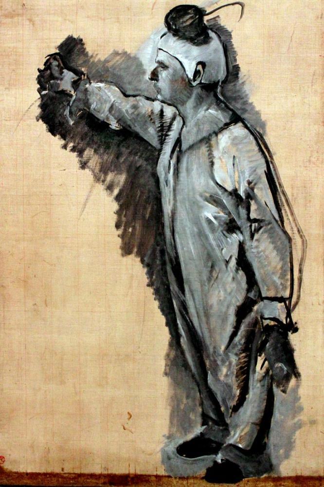Henri De Toulouse Lautrec Clown Anagoria, Canvas, Henri de Toulouse-Lautrec, kanvas tablo, canvas print sales