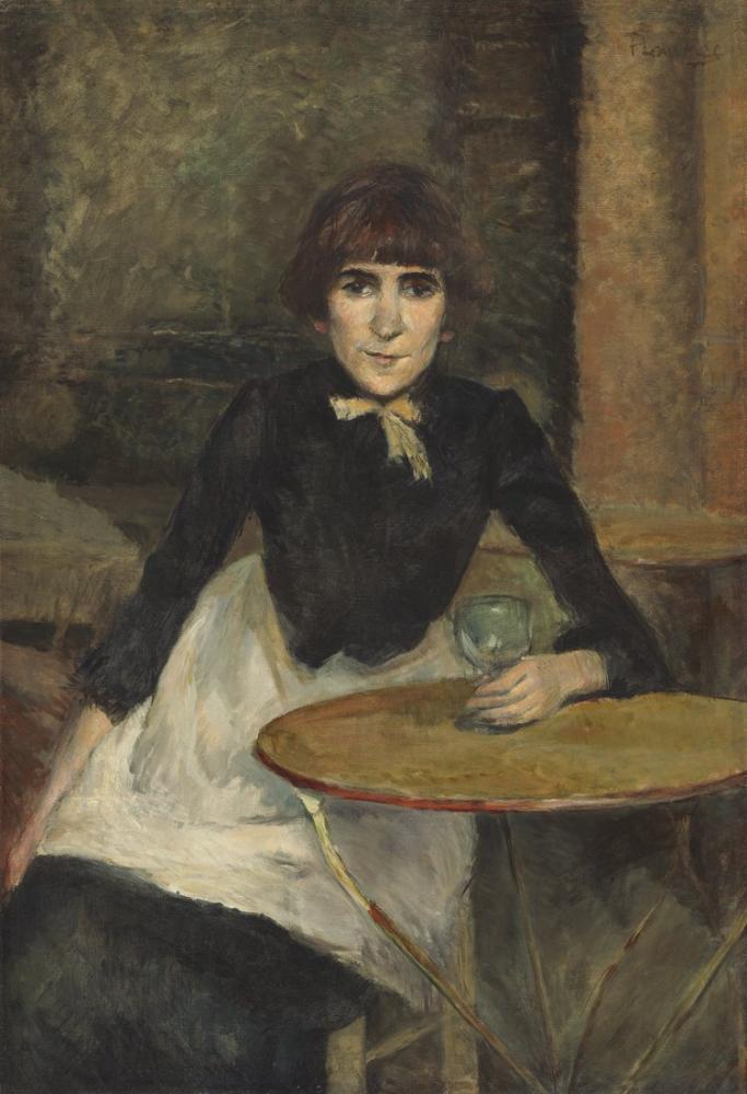 Henri De Toulouse Lautrec A La Bastille Jeanne Wenz, Canvas, Henri de Toulouse-Lautrec, kanvas tablo, canvas print sales