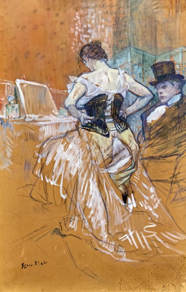 Henri De Toulouse Lautrec Augustins Pasajı fethi, Kanvas Tablo, Henri de Toulouse-Lautrec, kanvas tablo, canvas print sales