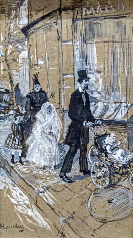 Henri De Toulouse Lautrec Augustins İlk Cemaat, Kanvas Tablo, Henri de Toulouse-Lautrec, kanvas tablo, canvas print sales