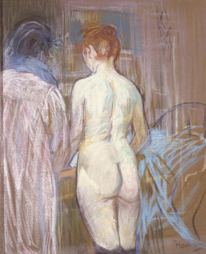 Henri De Toulouse Lautrec Prostitutes, Canvas, Henri de Toulouse-Lautrec, kanvas tablo, canvas print sales