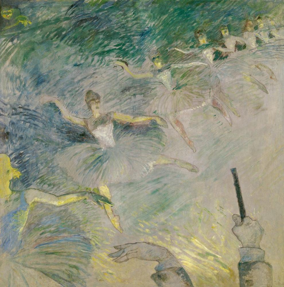 Henri De Toulouse Lautrec Bale Dansçıları, Kanvas Tablo, Henri de Toulouse-Lautrec, kanvas tablo, canvas print sales