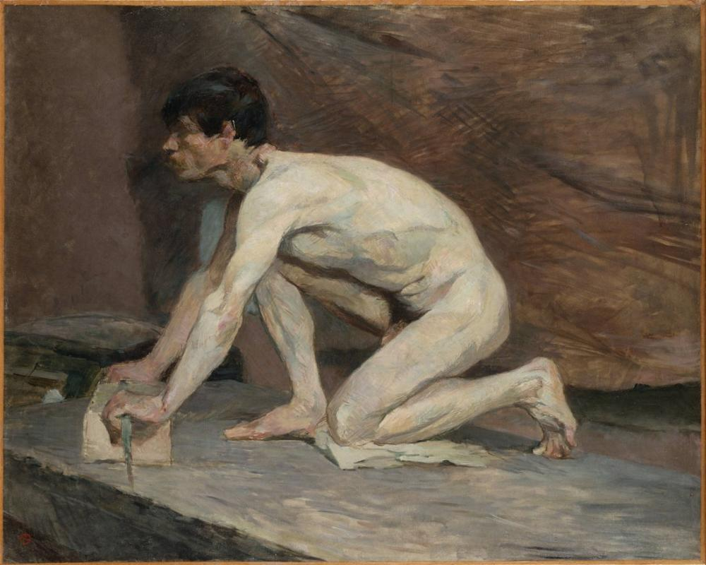 Henri De Toulouse Lautrec Mermer Parlatıcı, Kanvas Tablo, Henri de Toulouse-Lautrec, kanvas tablo, canvas print sales