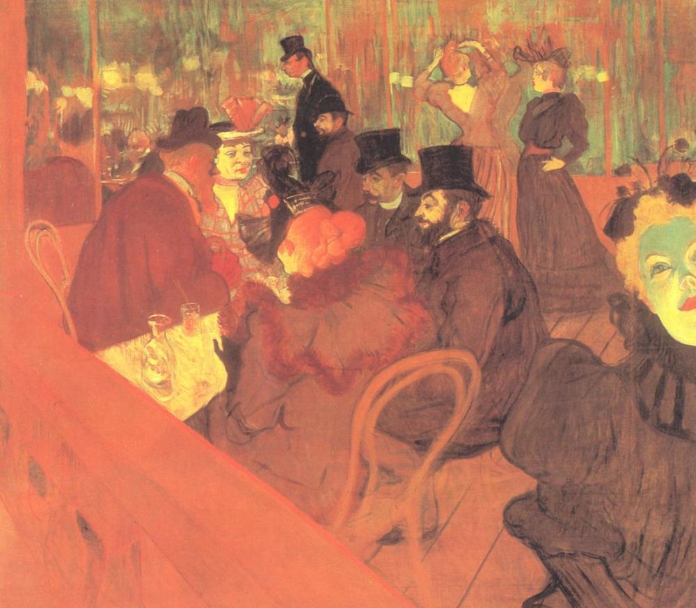 Henri De Toulouse Lautrec Moulin Rouge, Kanvas Tablo, Henri de Toulouse-Lautrec, kanvas tablo, canvas print sales