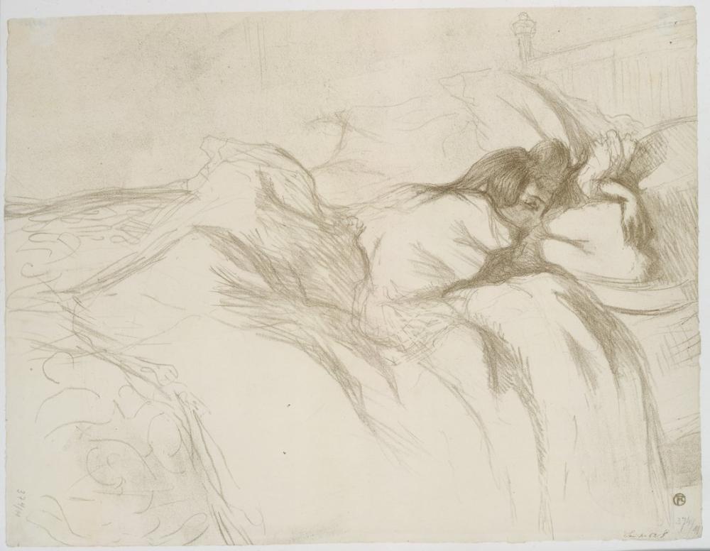 Henri De Toulouse Lautrec Uyanmak, Figür, Henri de Toulouse-Lautrec, kanvas tablo, canvas print sales