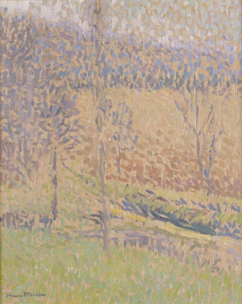 Henri Martin Dans Le Brouillard, Canvas, Henri Martin, kanvas tablo, canvas print sales